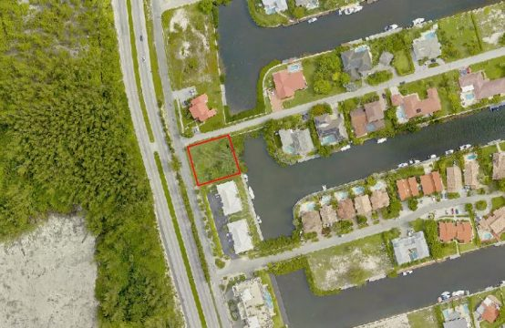 canal front land